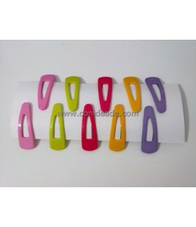 Comprar Pack de 10 horquillas de clip de colores de Conideade