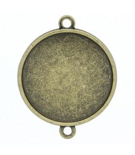 Comprar Conector base de camafeo 25mm bronce de Conideade
