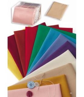 Comprar Tela popelin colores lisos 45x45 de Conideade