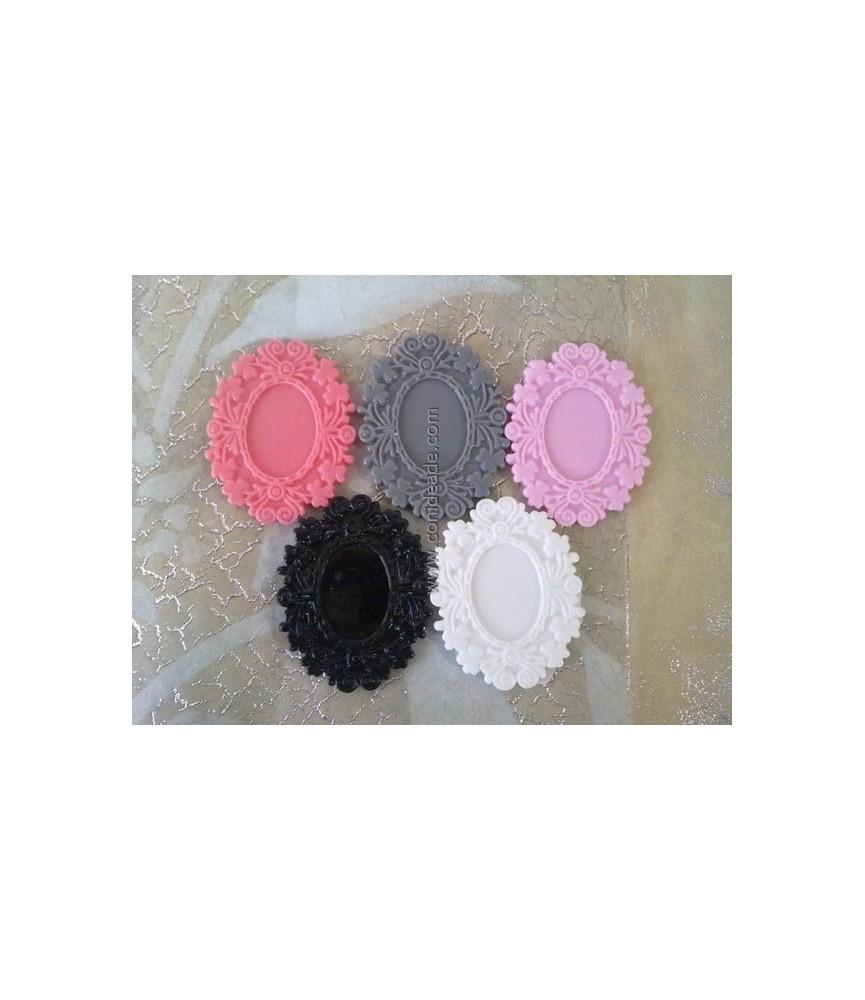 Base camafeo resina 6 colores