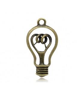 Comprar Charm Bombilla bronce de Conideade