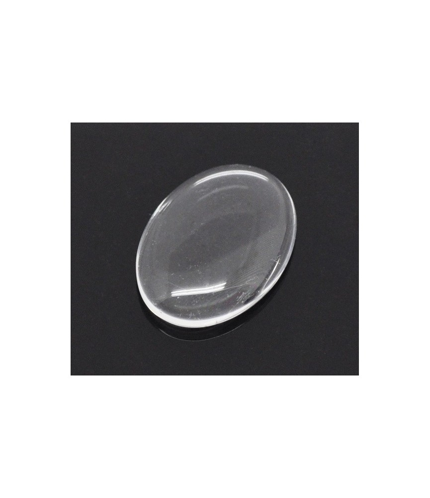 Cabuchon cristal ovalado 18x13mm