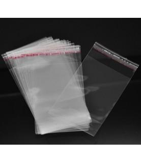 Pack de 200 bolsas de plástico de 11x6cm