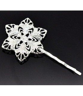 Comprar Horquilla plateada flor picos de Conideade