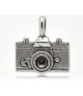 Charm cámara de fotos plata