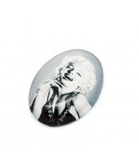 Comprar Cabuchon de cristal Marilyn Monroe 18x13mm de Conideade