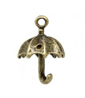 Comprar Charm paraguas bronce de Conideade