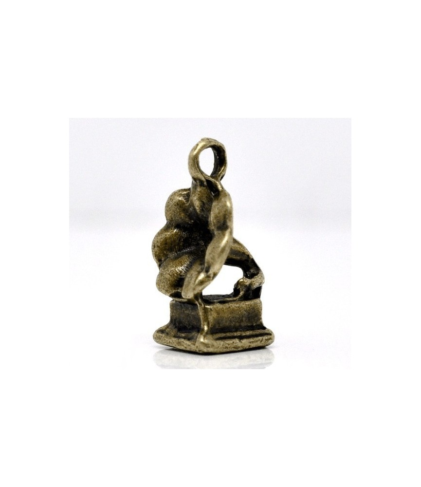 Charm gramola bronce