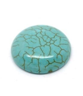 Cabuchon turquesa de piedra 20 mm