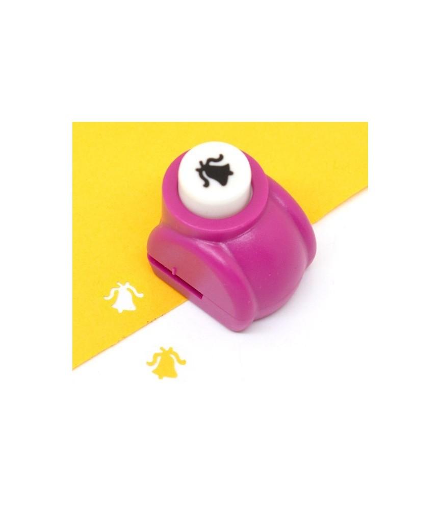 "Mini perforadora de figuras ""campana"""