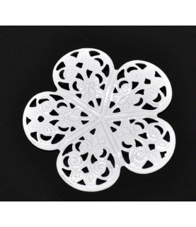 Comprar Conector flor filigrana blanca de Conideade
