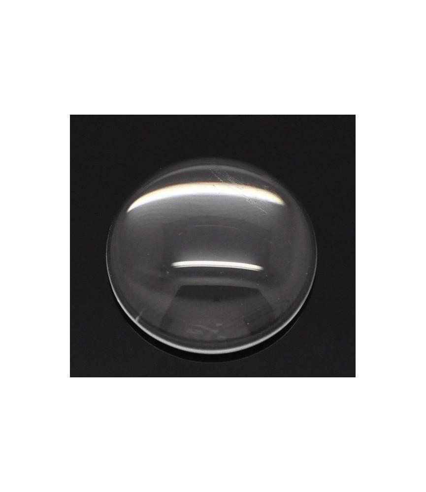 Cabuchon cristal redondo 18 mm