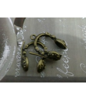 Charm bronce auriculares