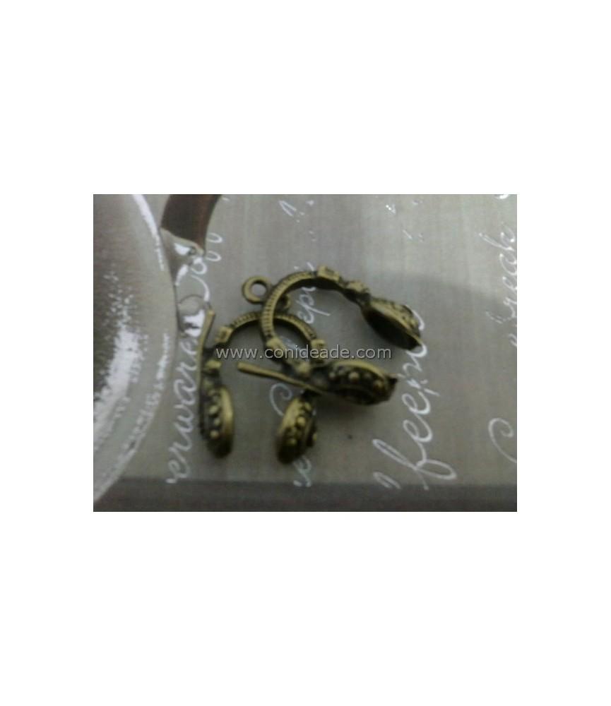 Charm bronce auriculares
