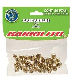 Comprar Pack de 30 cascabeles dorados de Conideade