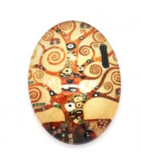 Comprar Cabuchon cristal arbol abstracto 18x13mm de Conideade