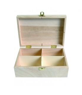 Imagén: Caja para te de madera