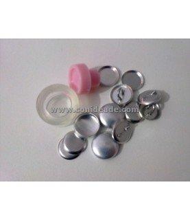 Pack Kit para forrar botones talla 20 y 10 botones