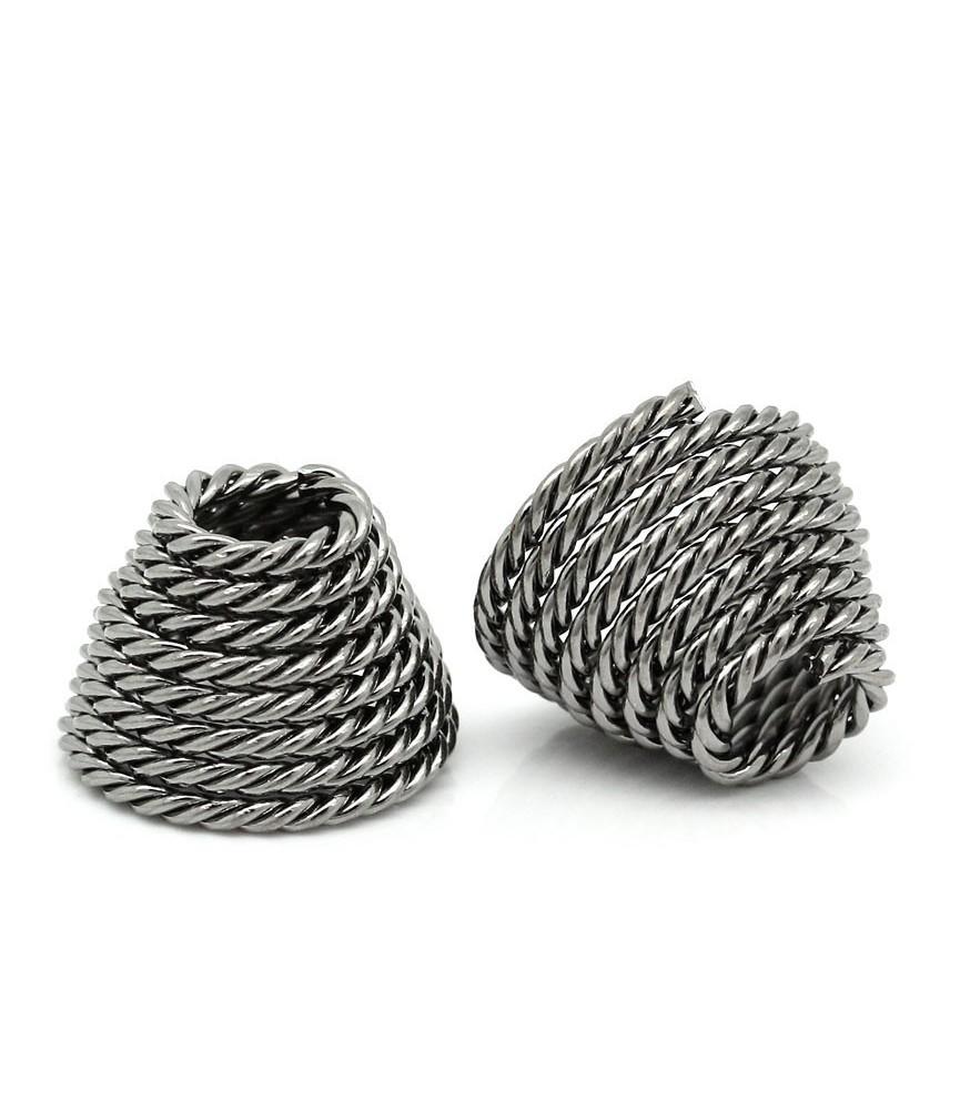 Terminal para cordones de 5 mm cuerda