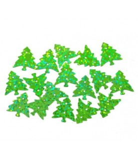 Bolsa 1000 lentejuelas arbol de navidad