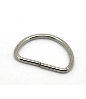 Imagén: Pack de 10 anillas de medio aro para bolsos pequeño