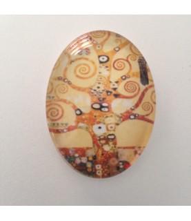 Comprar Cabuchon cristal arbol abstracto 30x40mm de Conideade