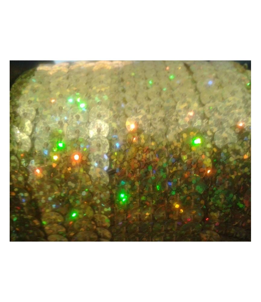 1 Metro de lentejuelas de colores lisos