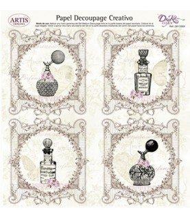 Comprar Papel decorativo para pegar mod perfume de Conideade