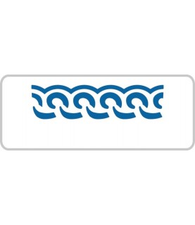Perforadora de Bordes cenefa olas