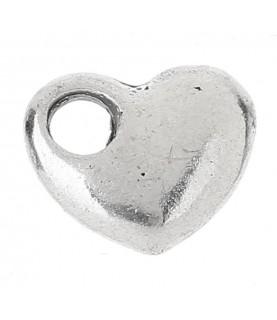 Comprar Charm corazón San Valentín plateado de Conideade