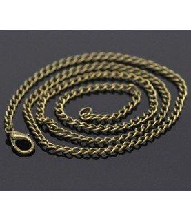 Comprar Cadena de 51 cm eslabon curvado bronce de Conideade