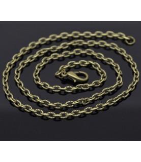 Comprar Cadena de 50,8 cm eslabon tallado bronce de Conideade