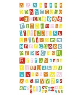 Comprar Autoadhesivos abecedario moderno de Conideade