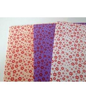 Comprar Pack 3 laminas Goma eva estampada de flores A4 de Conideade