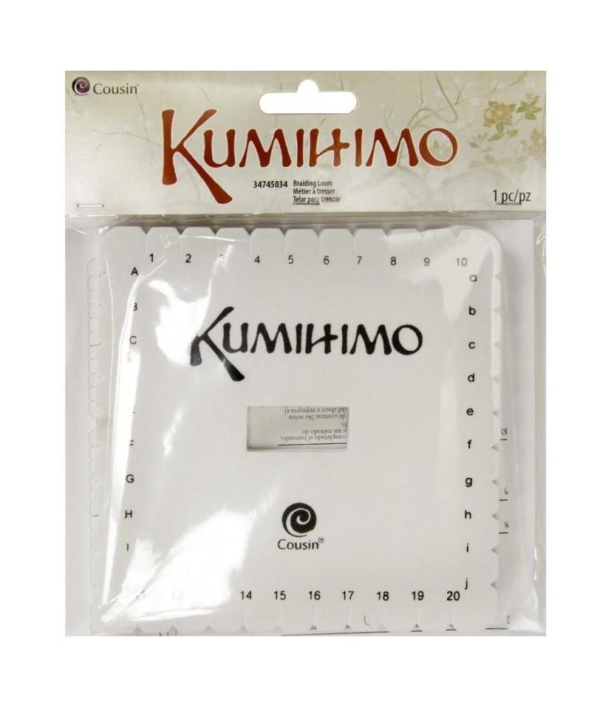 Disco Kumihimo cuadrado 14 cm (Estuche)