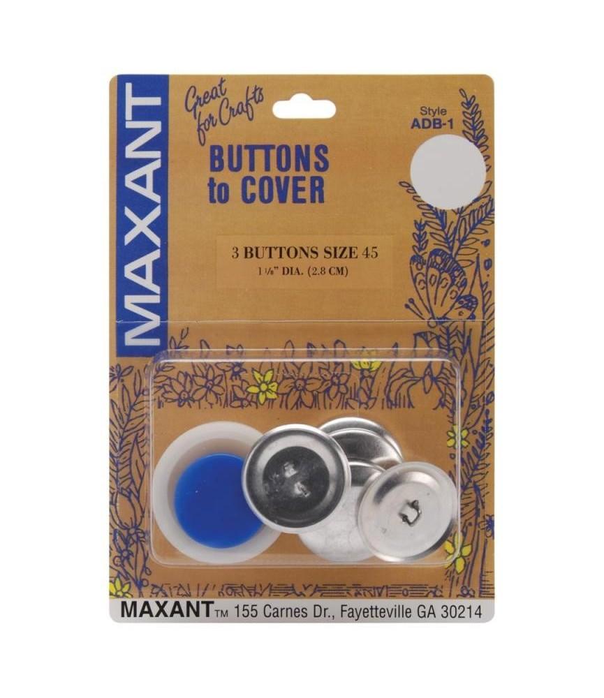 Kit forrar botones talla 45 y 3 botones