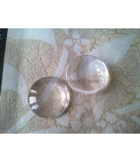 Cabuchon cristal redondo 35 mm