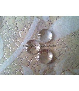 Cabuchon cristal redondo 16 mm