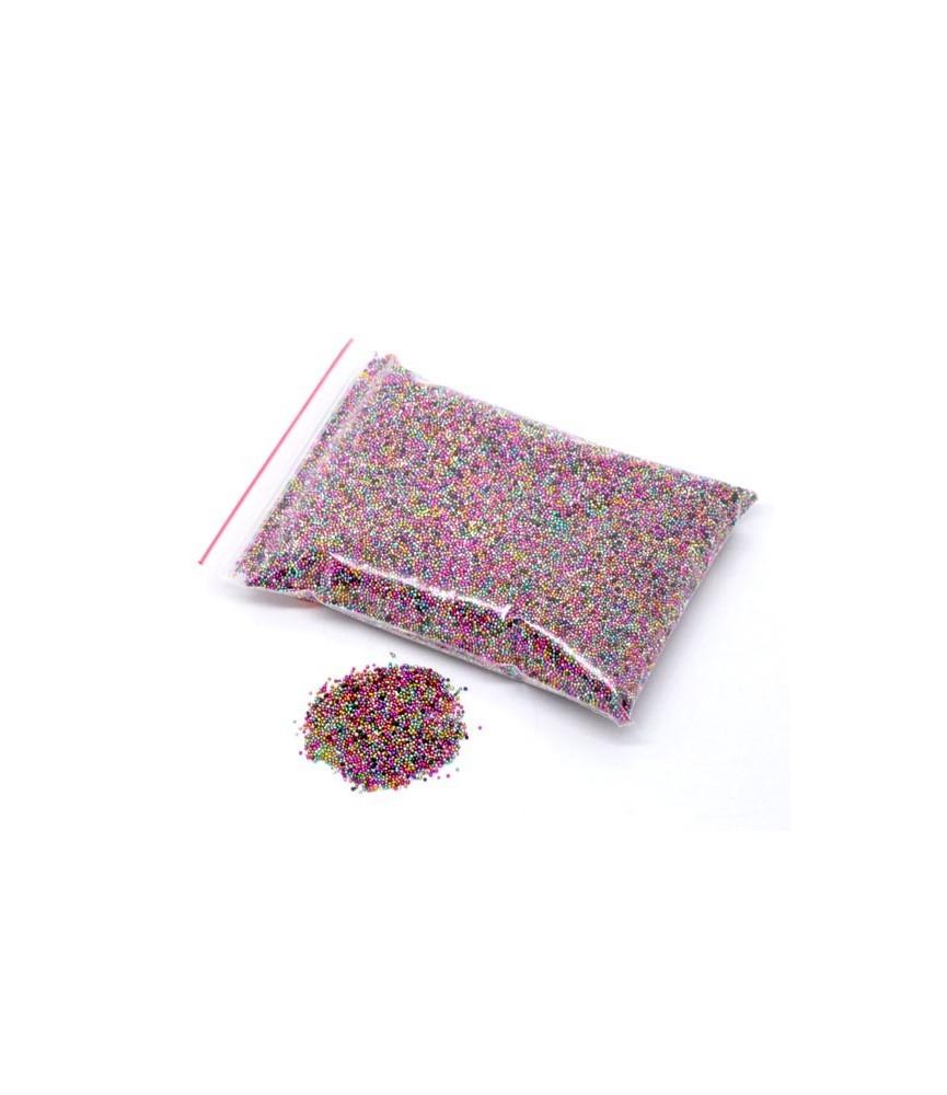 Bolsa 100 gr de micro cristales colores
