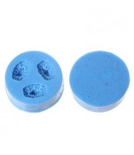 Comprar Molde se silicona para 3 flores de resina de Conideade