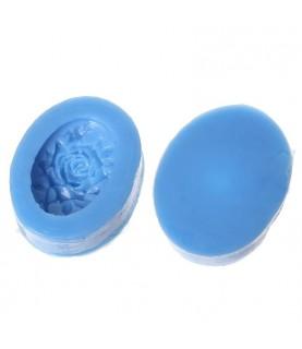 Molde se silicona para 1 flor de resina