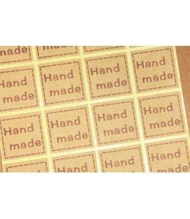 Comprar Set de 20 pegatinas hand made cuadrada de Conideade