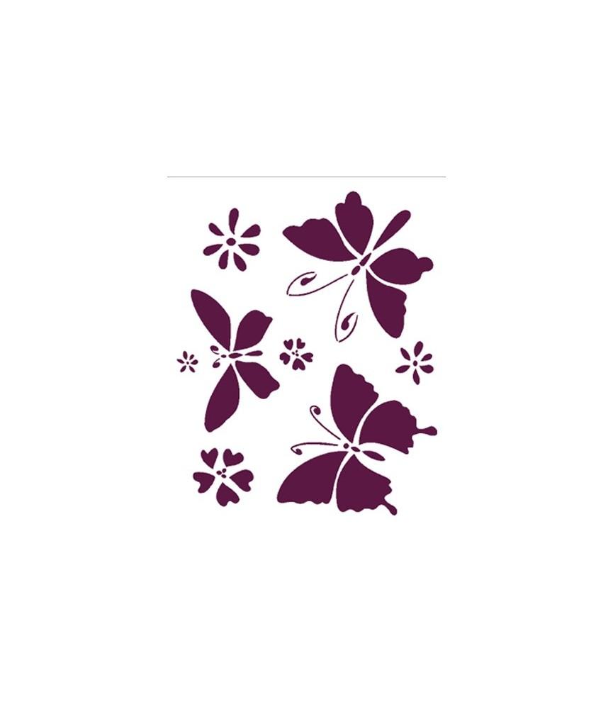 Plantilla para manualidades modelo mariposas