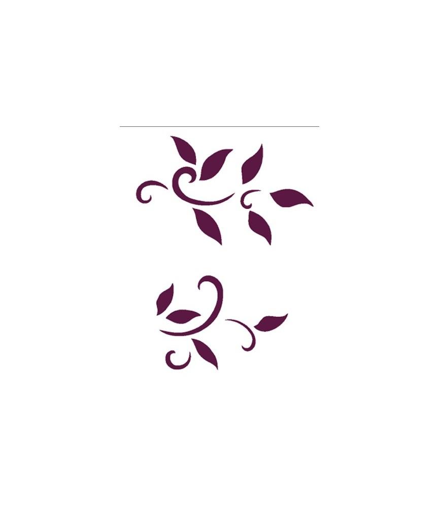 Plantilla stencil DIN-A4 Mod 022