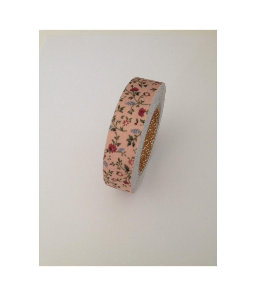 Rollo de Fabric tape minimums indian rosa