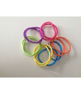 Imagén: Pack 12 gomas del pelo finas colores