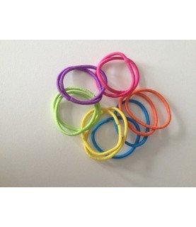 Comprar Pack 12 gomas del pelo finas colores de Conideade