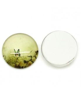 Comprar Cabuchon de cristal mariposa 12 mm de Conideade