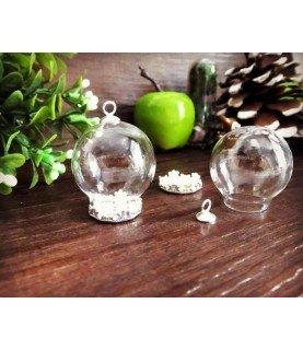 Comprar Set de camafeo colgante con esfera de cristal 30mm de Conideade