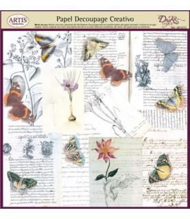 Papel decorativo para pegar mod mariposas